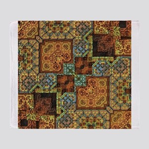 Patchwork Pattern Throw Blanket