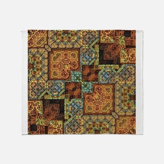 Patchwork Pattern Throw Blanket