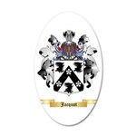 Jacquot 20x12 Oval Wall Decal