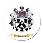 Jacquinot Round Car Magnet