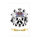 Jacquinet Sticker (Rectangle 50 pk)