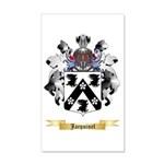 Jacquinel 20x12 Wall Decal