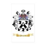 Jacquin Sticker (Rectangle 50 pk)