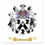Jacqui Square Car Magnet 3