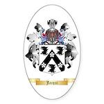 Jacqui Sticker (Oval 10 pk)