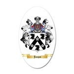 Jacqui 20x12 Oval Wall Decal