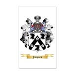Jacques 20x12 Wall Decal