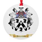 Jacquenod Round Ornament