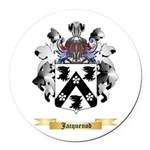 Jacquenod Round Car Magnet