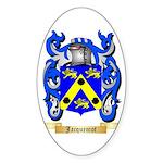 Jacquemot Sticker (Oval)
