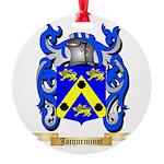 Jacqueminot Round Ornament
