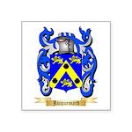 Jacquemard Square Sticker 3