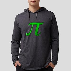 Green Pi Long Sleeve T-Shirt