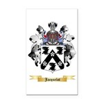 Jacquelot Rectangle Car Magnet