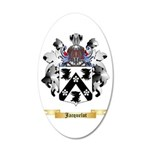 Jacquelot 20x12 Oval Wall Decal