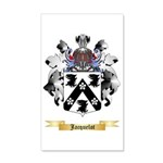Jacquelot 35x21 Wall Decal
