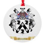 Jacquelin Round Ornament