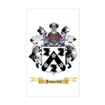 Jacquelin Sticker (Rectangle)