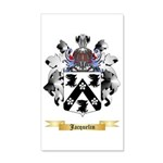 Jacquelin 35x21 Wall Decal