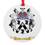 Jacquelet Round Ornament