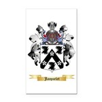 Jacquelet Rectangle Car Magnet
