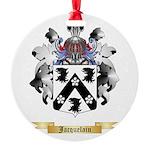 Jacquelain Round Ornament