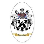 Jacquelain Sticker (Oval 50 pk)