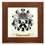 Jacquelain Framed Tile