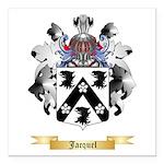 Jacquel Square Car Magnet 3
