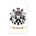 Jacquel 35x21 Wall Decal