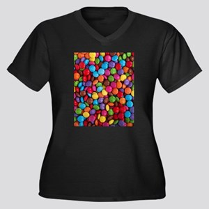 rainbow candy Plus Size T-Shirt