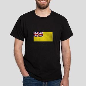 Niue - Flag Dark T-Shirt