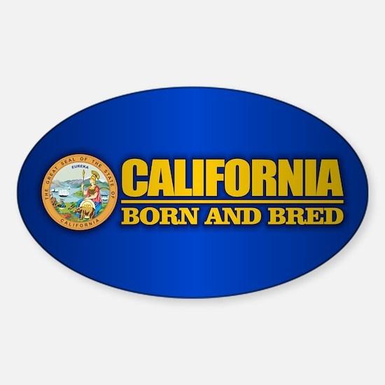 Funny Chula vista california Sticker (Oval)