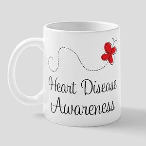 Heart Disease Butterfly Mug