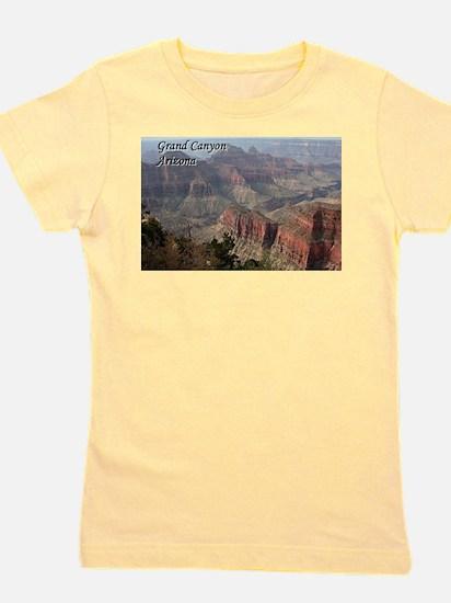 Grand Canyon, Arizona 2 (with caption) Girl's Tee