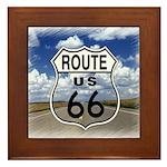 Rt. 66 Framed Tile