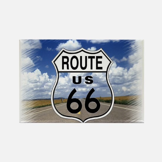 Rt. 66 Rectangle Magnet