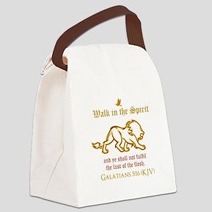 Walk in the Spirit Canvas Lunch Bag