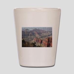 Grand Canyon, Arizona 2 (with caption) Shot Glass