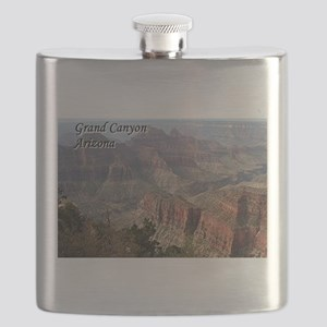 Grand Canyon, Arizona 2 (with caption) Flask