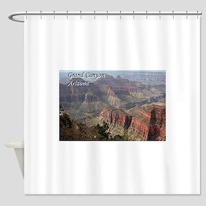 Grand Canyon, Arizona 2 (with capti Shower Curtain