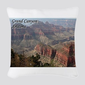 Grand Canyon, Arizona 2 (with Woven Throw Pillow
