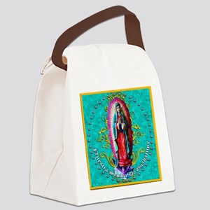 NUESTRA SENORA DE GUADALUPE Canvas Lunch Bag