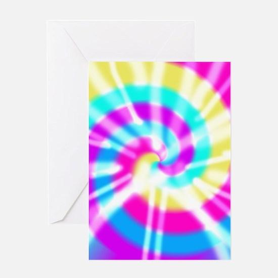Tye Dye Pattern Greeting Card