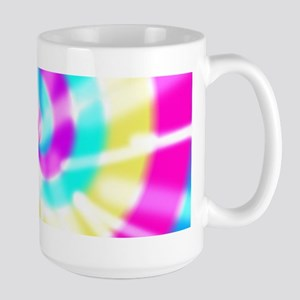 Tye Dye Pattern Large Mug