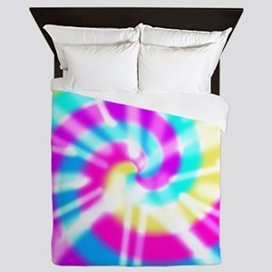 Tye Dye Pattern Queen Duvet