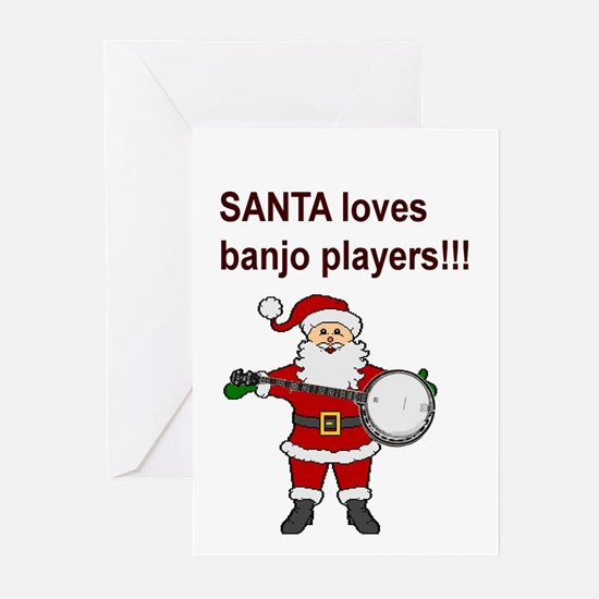 Bluegrass and old time banjo! Greeting Cards (Pack