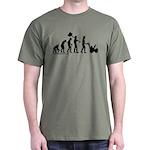 Snowblower Evolution Dark T-Shirt