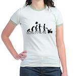Snowblower Evolution Jr. Ringer T-Shirt
