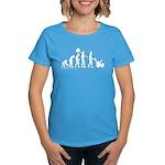Snowblower Evolution Women's Dark T-Shirt